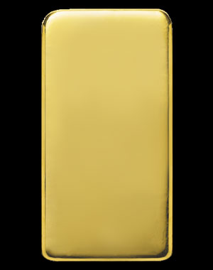Heraeus Precious Metals Gold Bullion Bar 100 OZ Reverse