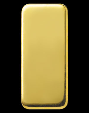 Heraeus Precious Metals Gold Bullion Bar 1 Kilo Reverse
