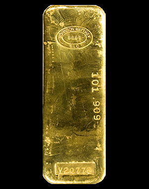 Johnson Matthey Gold Bullion Bar 1 Kilo