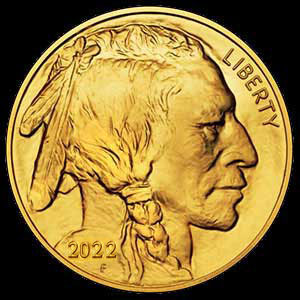 American Buffalo Gold Coin 1 OZ Obverse