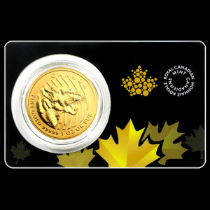 Canadian Gold Growling Cougar 1 OZ Reverse