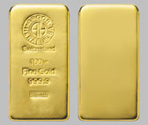 Heraeus Precious Metals Gold Bullion Bar 100 Ounce