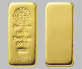Heraeus Precious Metals Gold Bullion Bar 1 Kilo (32.15 OZ)
