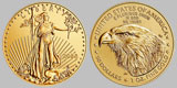 US $50 Gold Eagle 1 OZ