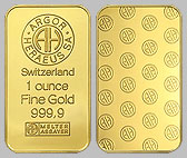 Heraeus Precious Metals Gold Bullion Bar 1 Ounce