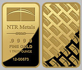NTR Gold Bullion Bar 1 OZ