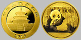 Chinese Panda Gold Coin 1 OZ