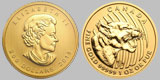 2015 Canadian Gold Growling Cougar Coin 1 OZ