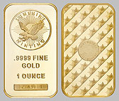 Sunshine Mint Gold Bullion Bar 1 OZ