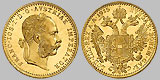 Austrian 1 Ducat Gold Coin .1107 OZ