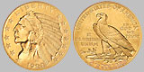 Indian Head $2.50 Gold Quarter Eagle