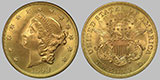 Liberty Head Twenty Dollar Gold Double Eagle
