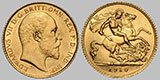 British Sovereign Gold Coin .2354 OZ