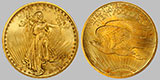St. Gaudens Twenty Dollar Gold Double Eagle
