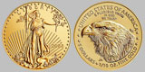 American $5 Gold Eagle 1/10 OZ