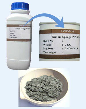 Heraeus Precious Metals Iridium Powder