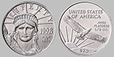 American Platinum Eagle 1/4 OZ