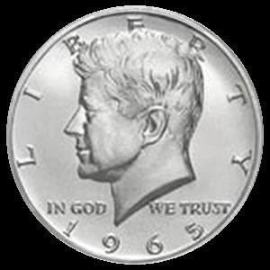 Silver American Kennedy Half Dollar Coin Bag 40 Percent