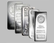 Varied Brands Silver Bullion Bar 100 OZ