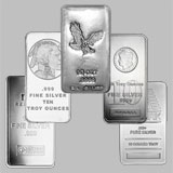 Varied Brands Silver Bullion Bar 10 OZ
