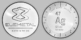 Elemetal Mint Silver Round 1 Ounce