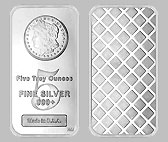 Morgan Design Silver Bullion Bar 5 OZ